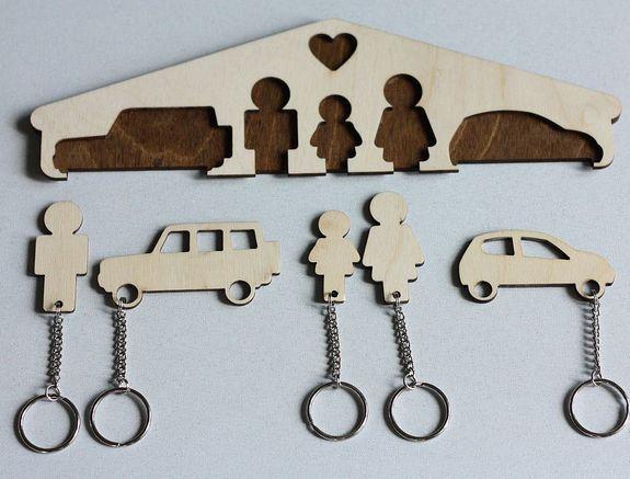 Вешалка для ключей своими руками