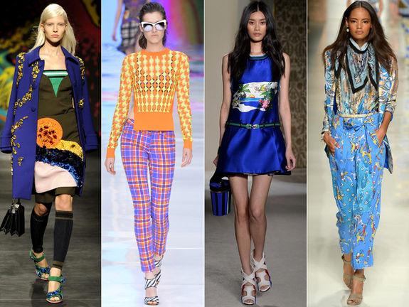 Весенними модные тенденции
