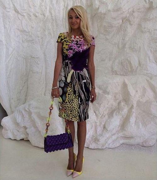 Яна рудковская ее платья