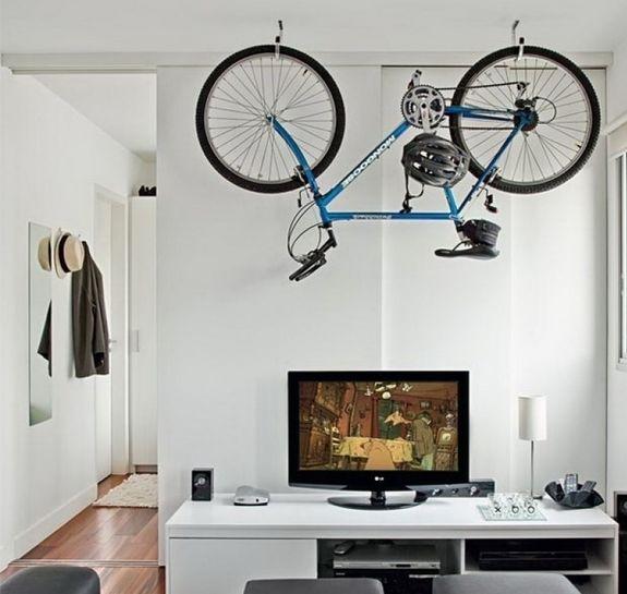 Картинки по запросу интерьер с велосипедом