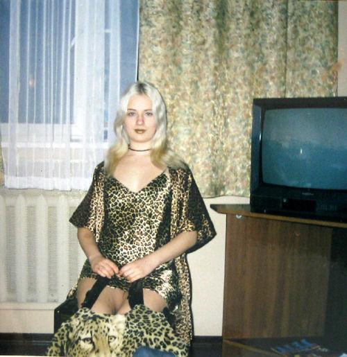 Девушка в леопардовом фото 678-369