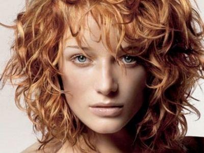 Завивка на волосы до лопаток фото - 2cf