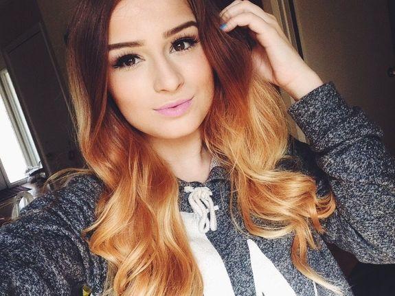 В какой цвет покрасить волосы? Сладкие ...