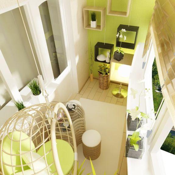 Фото дизайн квартир студий в салатовых тонах