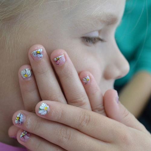 Детский дизайн ногтей фото