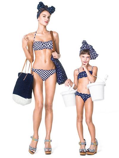Фото мам и дочек на пляжах