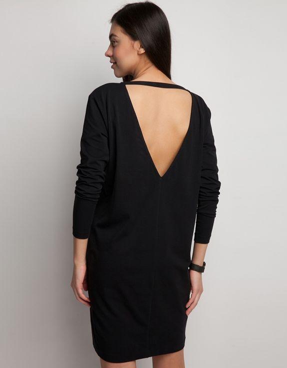 Как сделать вырез на платье сзади