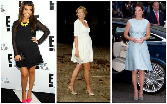 Платье во время беременности и после