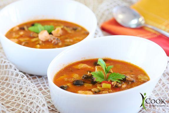 Рыбный суп гастроном