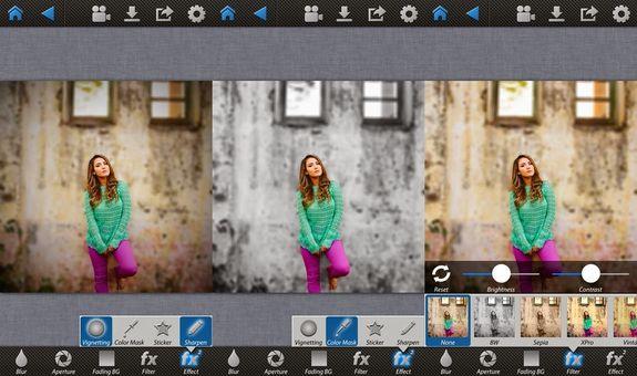 Как сделать фото размытым приложение
