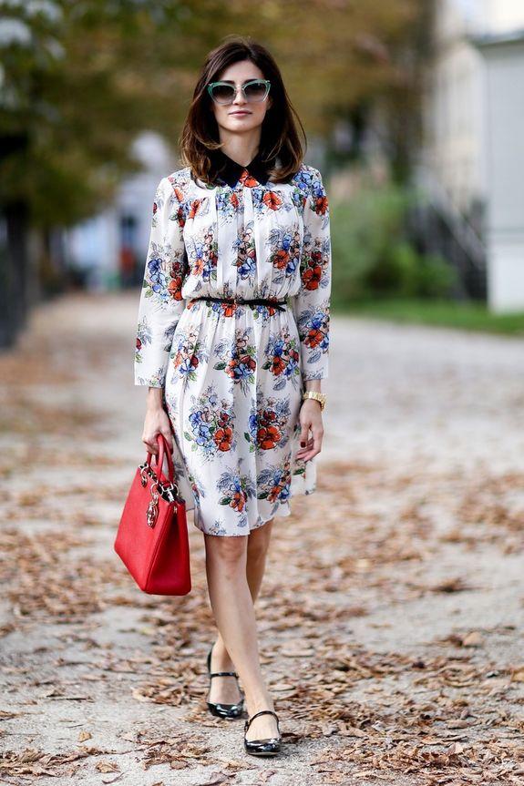 Офисные шифоновые платья