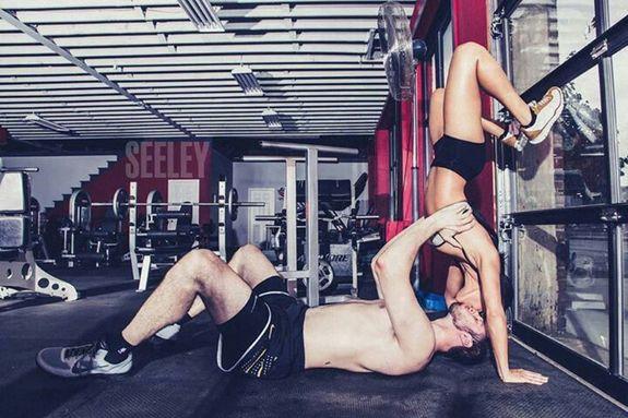Сексуальная тренировка мужчины