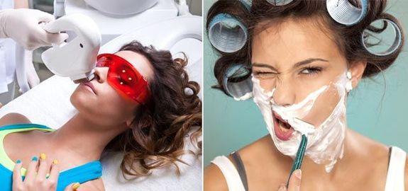Девушки как бреются фото