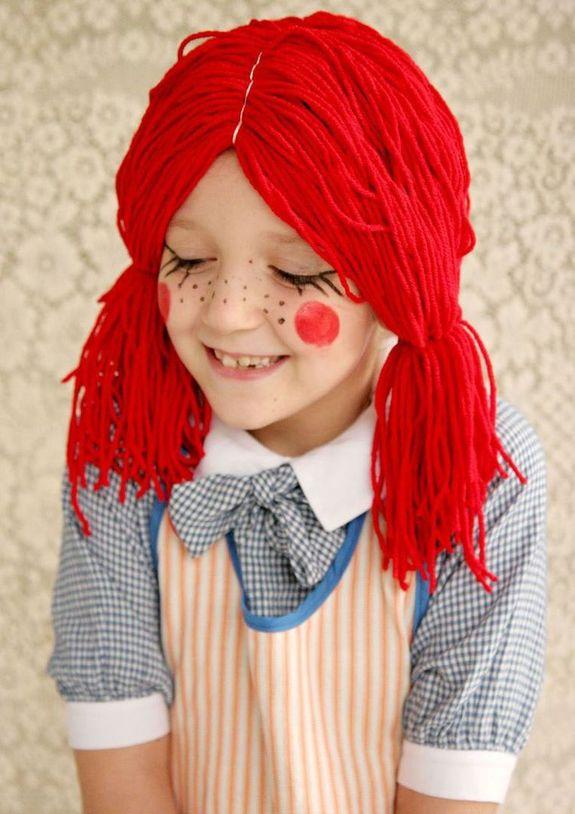 Как сделать парик клоуна своими руками