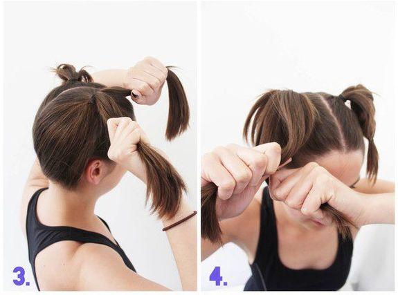 Как сделать прическу в спортзале