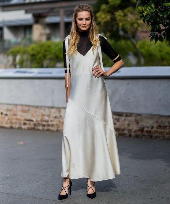 Водолазка майка платье