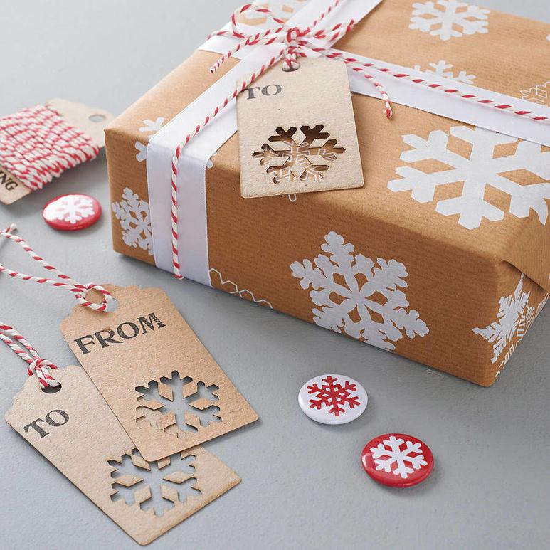 Упаковка новогодних подарков 17