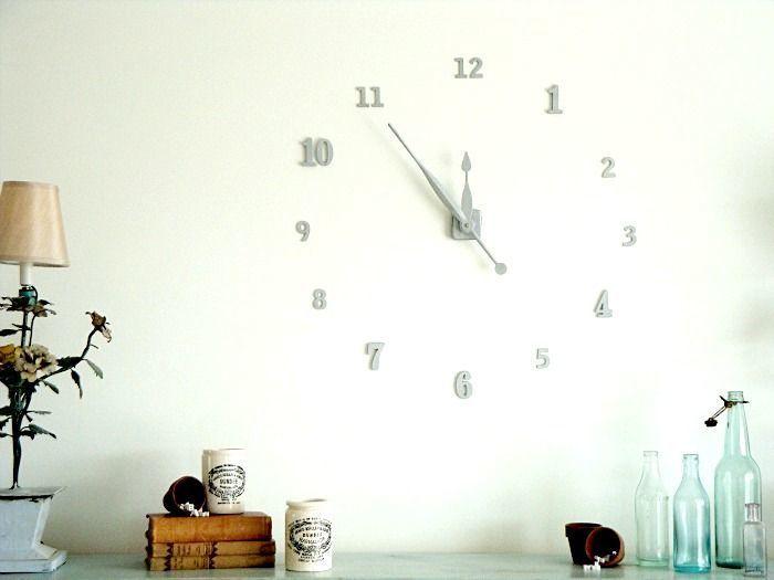 Как сделать часы на стене