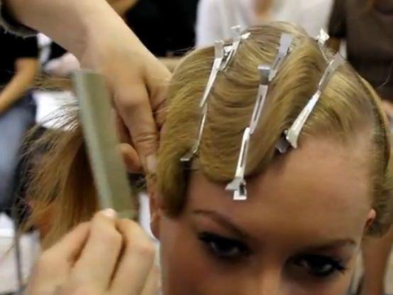 Как сделать на волосах холодную волну