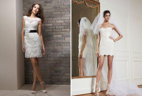 Туфли для коротких свадебных платьев