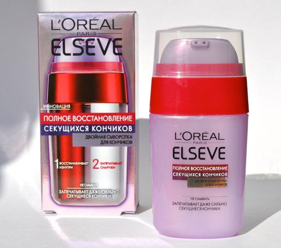 Лореаль для кончиков волос масло